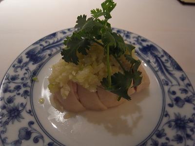 銘柄鶏冷菜