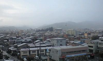 初雪 日之本元極 飛騨 高山