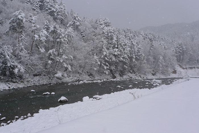LX3 飛騨 高山 冬景色 夢 予知