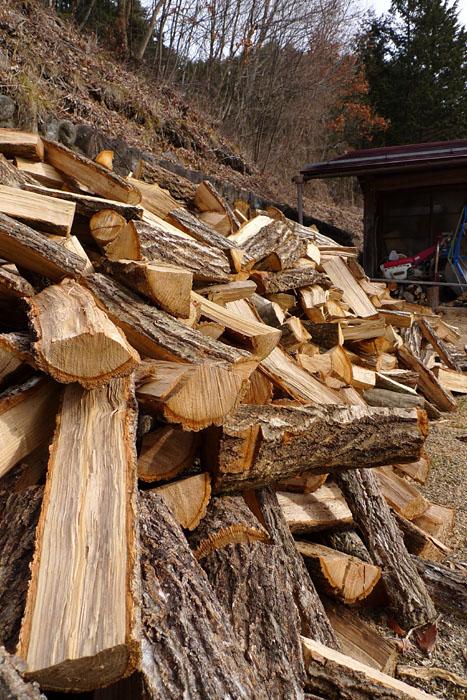 春木 燃料 薪ストーブ 飛騨 高山