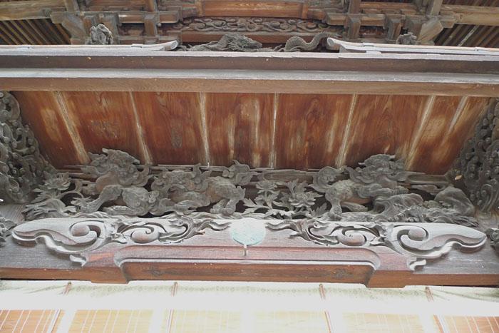 諏訪神社 彫刻 下社 秋宮 日之本元極