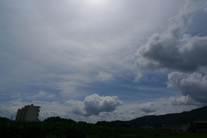 梅雨 晴れ 飛騨 高山 日之本元極
