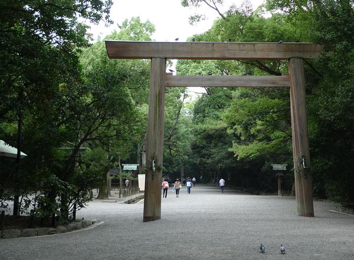 熱田神宮 二の鳥居 名古屋市 日之本元極