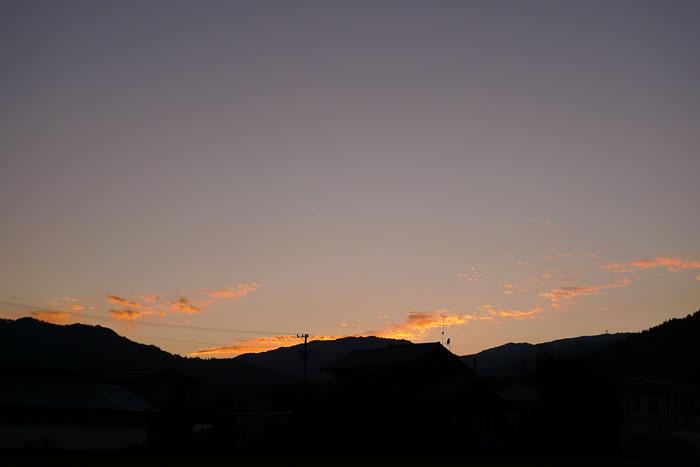 飛騨 高山 夕景 日之本元極