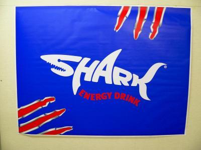 SHARK エナジードリンクのロゴ