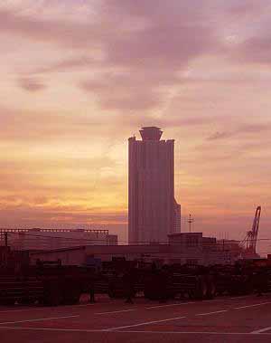 朝焼けWTC