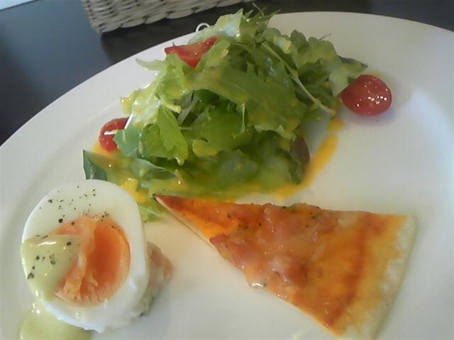 Trentotto ランチのサラダ