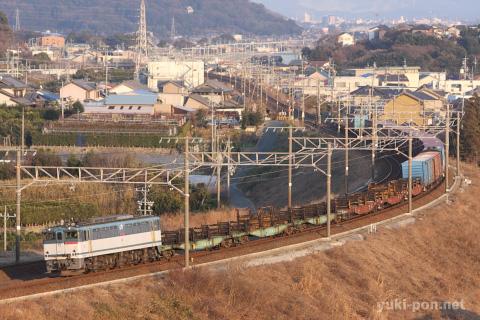 EF65貨物@三河大塚~三河三谷