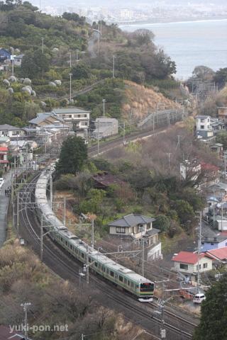 E231系@早川~根府川