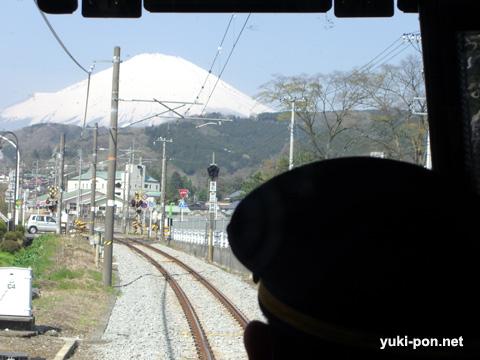 富士山@足柄付近?