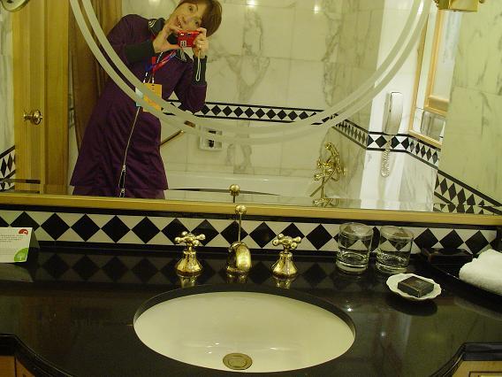 中国公演 ホテル洗面台