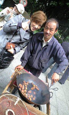 中国 栗屋のオヤジさん