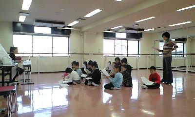 旧宝塚音楽学校でエンジェル