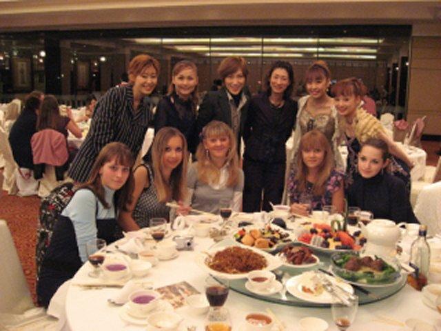 中国公演 ロシアのチームと