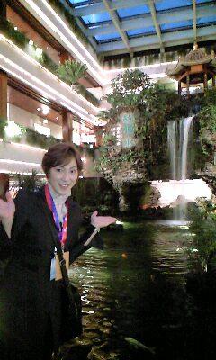 中国 ホテル中庭