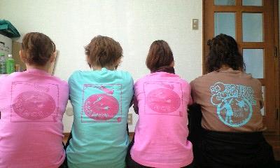 チャンスTシャツ 4人