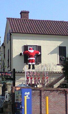 クリスマス サンタ?