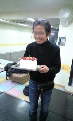 煌 大谷先生 とケーキ