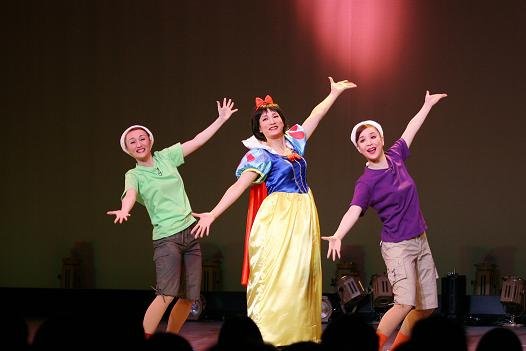 チャンス 白雪姫 3人