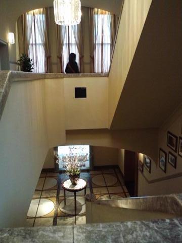 モノリス 二階から見たよ