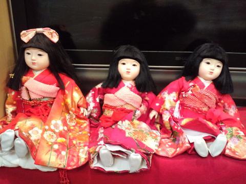 タレちゃん 市松人形
