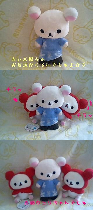 あったかフードぬいぐるみ★赤頭巾コリちゃん★-1