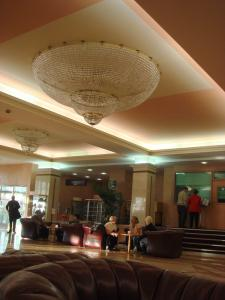 ホテルモスクワロビー