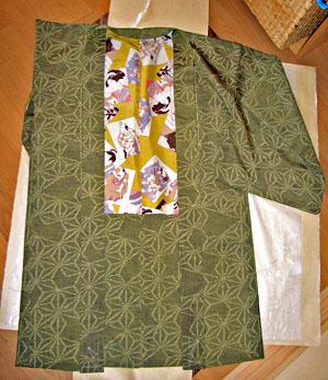 麻の葉歌舞伎羽織