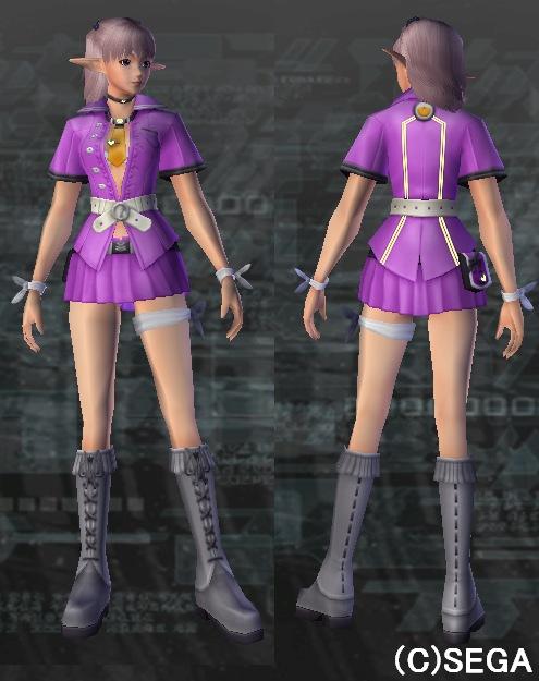 ポップスコア 紫x紫