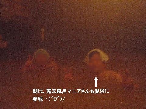 2011年2月 薬師温泉露天風呂1