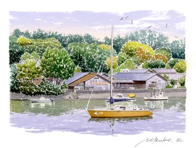 川とヨット02