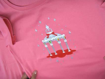 西山Tシャツ