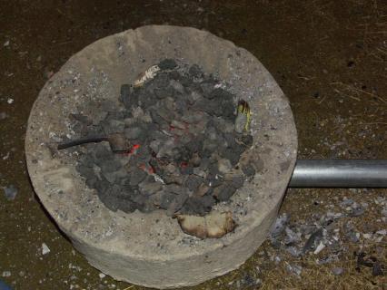 鍛冶-火床