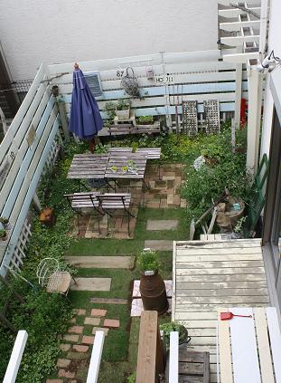 ガーデン上から