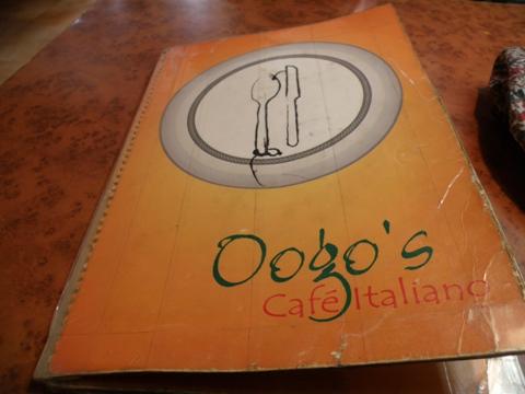 Oogos menu