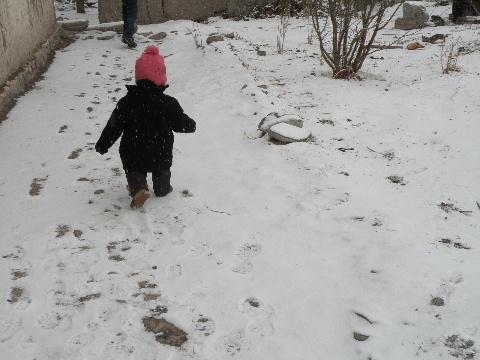 雪と創一1