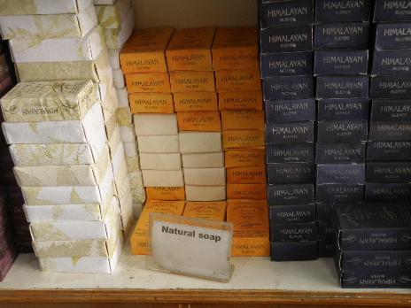 Eco shop soap