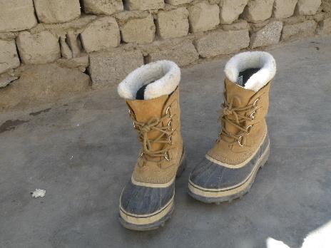 ソレルのブーツ