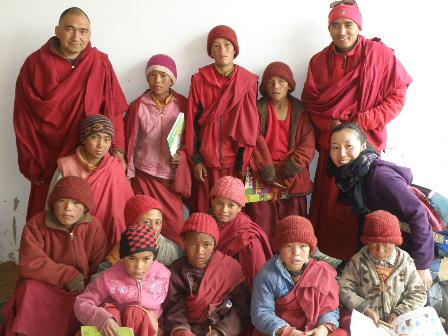 Lamayuru Gonpa school 5