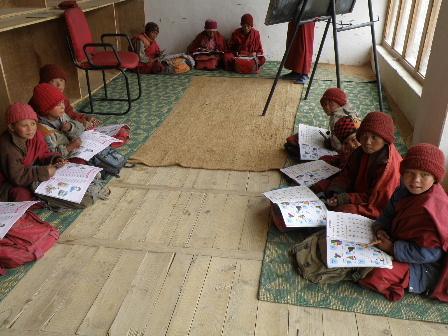 Lamayuru Gonpa School2