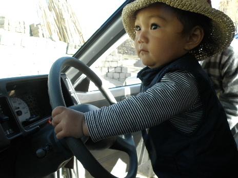 Soichi driving