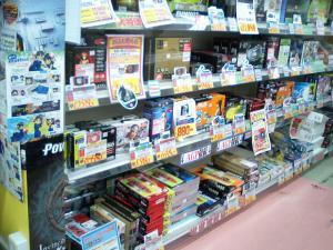 TWOTOP名古屋店ビデオカード売り場の様子