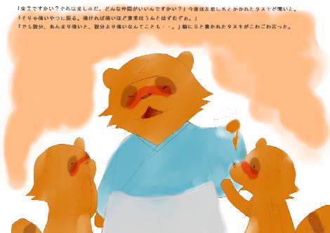 タヌキ財団7
