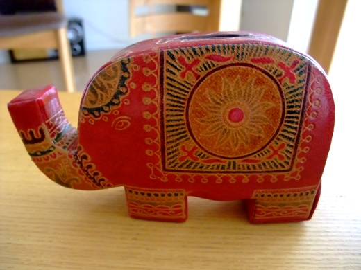 象さん貯金箱