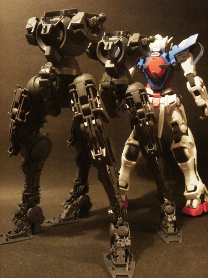 GNX-603Tジンクス:内骨格の出来...