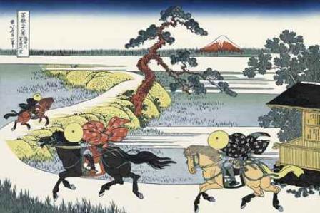 葛飾北斎「隅田川関屋の里」(富嶽三十六景)
