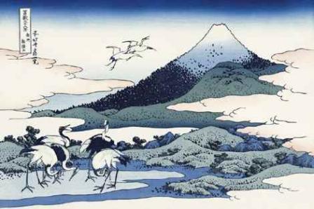 葛飾北斎「相州梅沢庄」(富嶽三十六景)