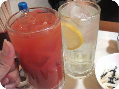 トマトハイで乾杯