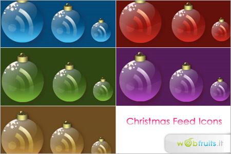 クリスマスRSSアイコン2