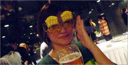 かねともビールメガネ